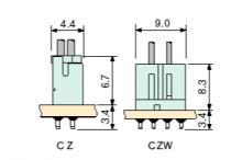 Wire to Board /  CZ/CZW - Schema