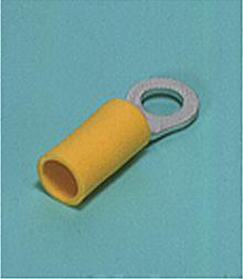 Loose Pieces Terminals /  Ring tongue (R-type, Vinyl-insulated) (straight)