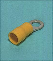 Loose Pieces Terminals /  Ring tongue (R-type, Vinyl-insulated) (flared)
