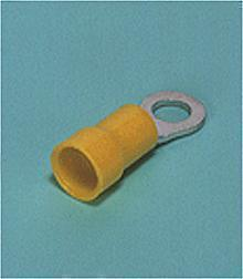 Loose Pieces Terminals /  Ring tongue (R-type, Nylon-insulated) (flared)