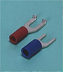 Loose Pieces Terminals /  Spade tongue terminal (A-type/B-type, Vinyl-insulated) (straight)