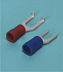 Loose Pieces Terminals /  Spade tongue terminal (A-type/B-type, Vinyl-insulated) (flared)