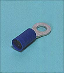 Loose Pieces Terminals /  Ring tongue terminal (R-type, Vinyl-insulated with copper sleeve) (straight)