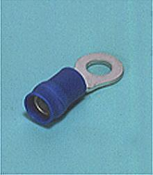 Loose Pieces Terminals /  Ring tongue (R-type, Vinyl-insulated with copper sleeve) (Medium size)