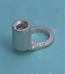 Loose Pieces Terminals /  Ring tongue (R-type, Non-insulated/Bent at 90 degrees)